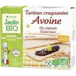 Tartines craquantes avoine JARDIN BIO, paquet de 150g