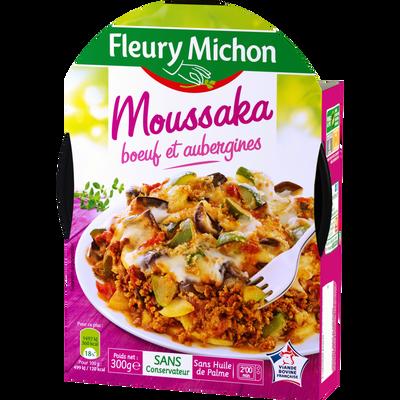 Moussaka au boeuf et aubergines FLEURY MICHON, 300g