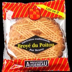 Lot de 2 broyés du Poitou, BISCUITERIE AUGEREAU, soit 560g