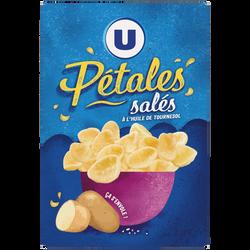 Snacks pétales salés U, paquet de 75g