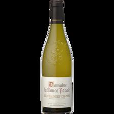 Vin blanc Châteauneuf du Pape AOP Domaine La Souco Papale, bouteille de  75cl