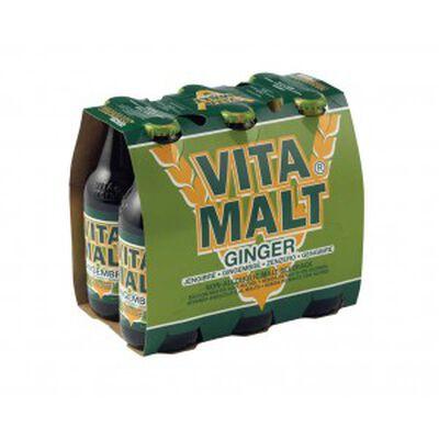 Boisson malte gingembre  ,VITA MALT 6 X33cl