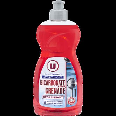 Liquide vaisselle astuces de chef bicarbonate&grenade U, flacon de 500ml
