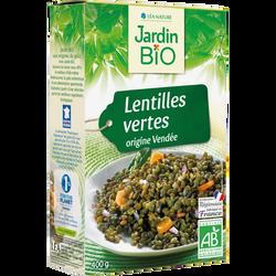 Lentilles vertes or vendée bio JARDIN BIO 400g