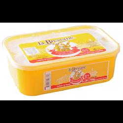 Fromage frais en faisselle au lait pasteurisé LA BRESSANE, 6% MG, 6x125g