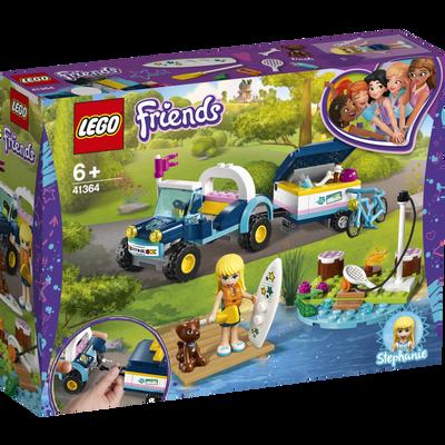 Le buggy et remorque de stephanie LEGO Friends