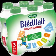 Blédina Croissance 10mois/3ans Bledina, 6 X 1 Litre