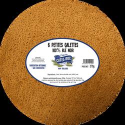 6 Petites galettes de blé noir FRAICHES CATEL ROC 270G