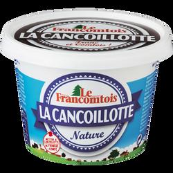 Cancoillotte nature lait pasteurisé 6,5%de MG LE FRANCOMTOIS, 250g