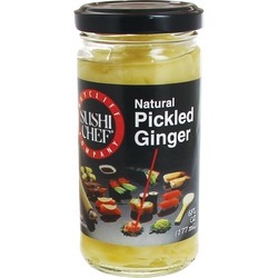 Pickle au gingembre SUSHI CHEF, 177g