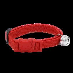 Collier nylon rouge pour chat AIME