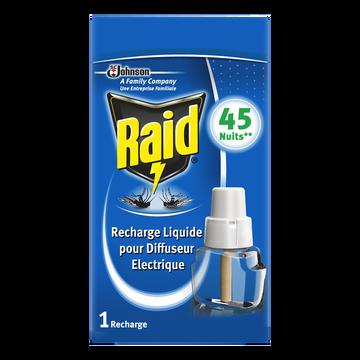 Raid Recharge Électrique Liquide Fenêtres Ouvertes Raid, X45 Nuits