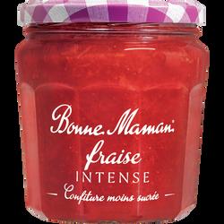 Confiture fraise intense BONNE MAMAN, 335g