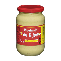 Moutarde de Dijon forte, bocal de 370g