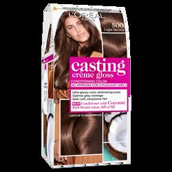 Coloration ton sur ton CASTING Crème Gloss, châtain clair, n°500