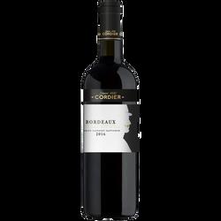 Bordeaux AOP rouge Cordier 2016, 75cl