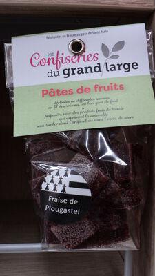 PATES DE FRUITS FRAISE  PLOUGA