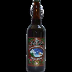 Bière d'hiver BRASERIE ARTISANALE DE SABAUDIA, bouteille de 75cl