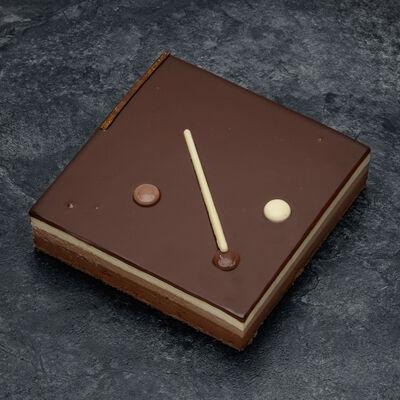 Plaisir 3 chocolats décongelé, 8 parts, 700g