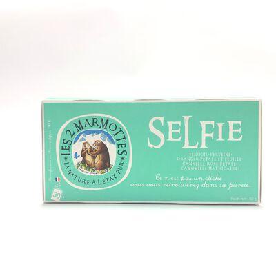 Infusion Selfie LES 2 MARMOTTES 30 sachets 50g