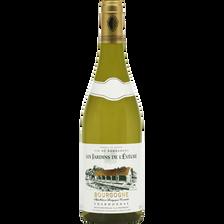 Vin blanc AOC Bourgogne Chardon Les Jardins de l'Evêché U, 75cl