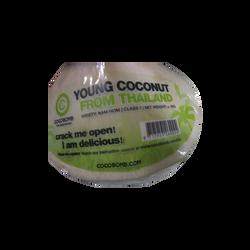 Noix de coco fraiche, Thaïlande, la  pièce
