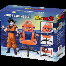 Siège gaming SUBSONIC Dragon Ball Z-taille réduite pour convenir aux enfants,ado et adultes-mousse haute densité-hauteur d'assise réglable-système rocking-base 5 roulettes