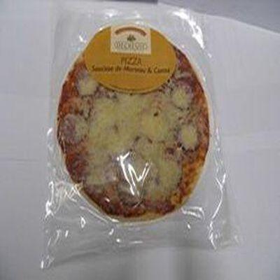 Pizza saucisse de Morteau et Comté