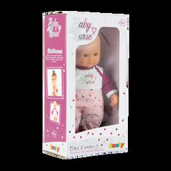Smoby - Bébé d'amour Baby Nurse  32cm - Dès 18 mois
