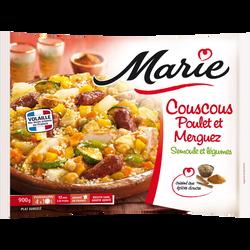 Couscous merguez poulet, MARIE, 900g