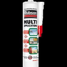 Mastic multi-fonctions RUBSON, cartouche de 280ml, translucide