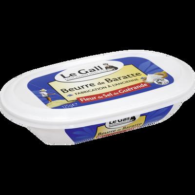 Beurre baratte sel de Guérande LE GALL, 125g
