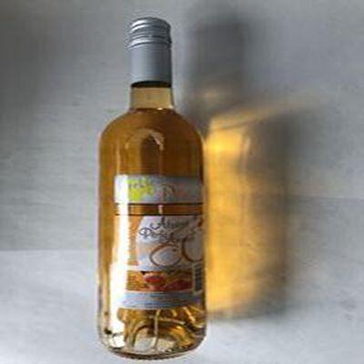 Boisson aromatisée à base de vin Blanc Abricot Peche Amande VINS ET FRUITS