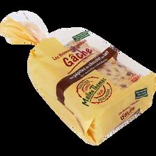 Gâche tranchée aux pépites de chocolat au lait Les Bonnes Tranches, MALINE THOMAS, 320g