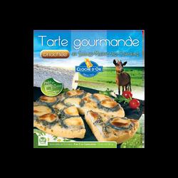 Tarte Sainte Maure de Touraine au lait cru 25% de MG, CLOCHE D'OR, 250g