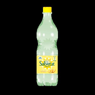 Eau finement pétillante citron SALVETAT, 1,25l