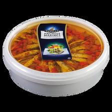 Filet d'anchois marinés à la provençale, transformé au Maroc, seau de1kg