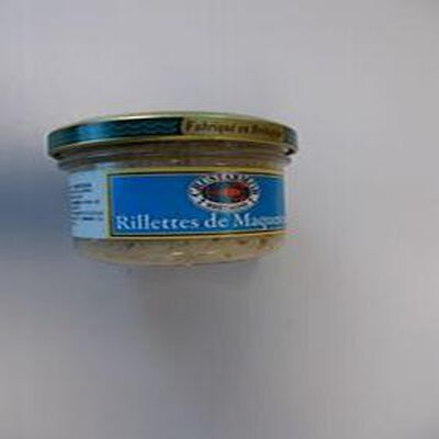 RILLETTES DE MAQUEREAU CRUSTARMOR 90G