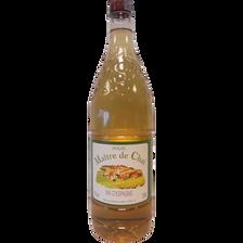 Vin blanc Espagne, bouteille en plastique de 1,5l
