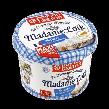 Paysan Breton Fromage Fouetté Pasteurisé Madame Loïk Sel Guérande Paysan Breton, 24%mg, 460g