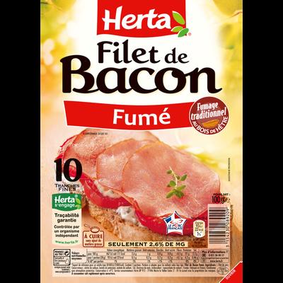 Filet de bacon HERTA, 100g