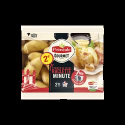 Pomme de terre Jazzy, de consommation à chair ferme, 38/42mm, cat.1, France, sachet micro-onde 500g