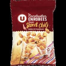 Sweet Cacahuètes Enrobées Saveur  Chili U, 150g