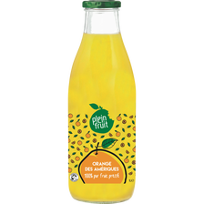 Pur jus d'orange des Amériques PF, brique de 1l