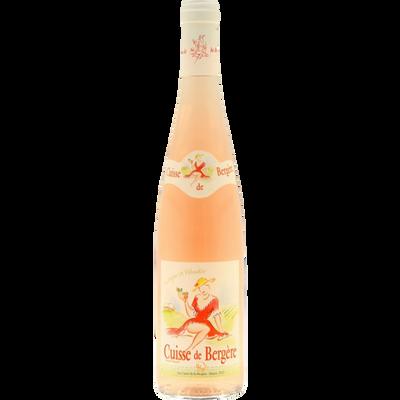 Vin de France rosé cuisse de bergère, bouteille de 75cl