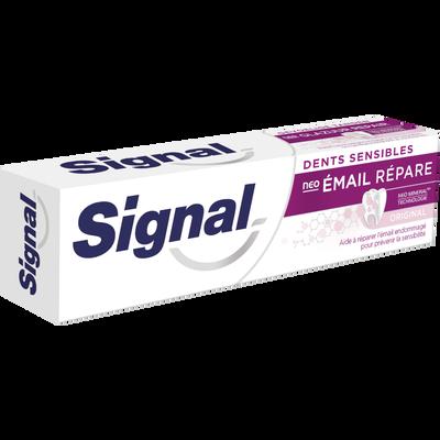 Dentifrice dents sensibles néo émail répare original SIGNAL, tube de 75ml