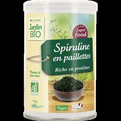 Super aliment Spiruline JARDIN BIO