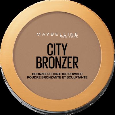 Poudre bronzante city bronze 250 medium foncé blister MAYBELLINE