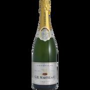 Brut Champagne Brut Gh Martel, 12°, 75cl