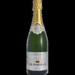 Champagne brut GH MARTEL, 12°, 75cl